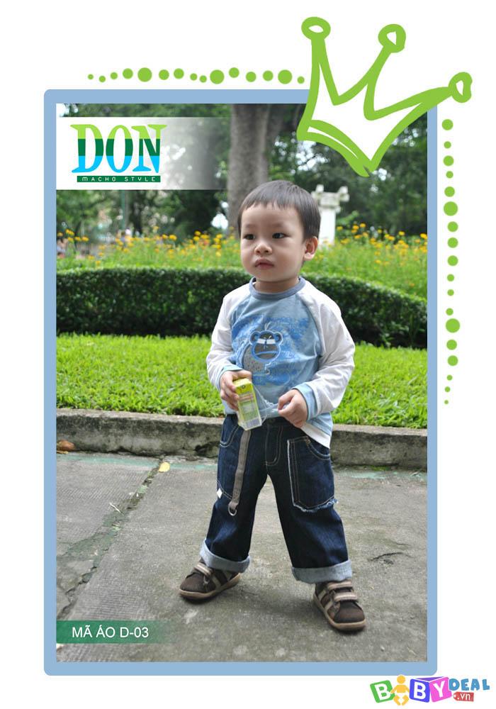 Bộ Set Qùa Tặng 3 Áo Thun Bé Trai Don cho bé, shop mẹ và bé, giá rẻ tại tp hcm