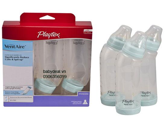 Bình Sữa Playtex - Set 3 Bình Cổ Thường 200ml (6oz) cho bé, shop mẹ và bé, giá rẻ tại tp hcm