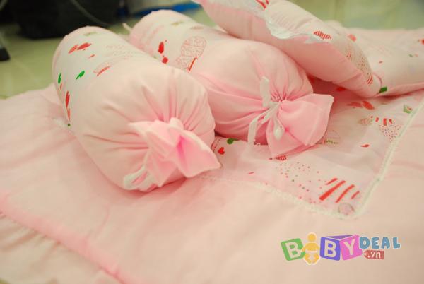 Bộ Gối Mền Kate cho bé, shop mẹ và bé, giá rẻ tại tp hcm