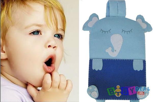 Balo Hình Ếch Và Voi Con cho bé, shop mẹ và bé, giá rẻ tại tp hcm