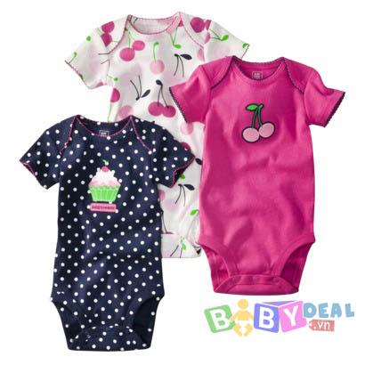 Set 5 áo Body Carter's cho bé, shop mẹ và bé, giá rẻ tại tp hcm
