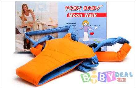 Địu tập đi Moby Baby cho bé, shop mẹ và bé, giá rẻ tại tp hcm