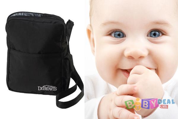 Túi Ủ Bình sữa Dr Brown's cho bé, shop mẹ và bé, giá rẻ tại tp hcm