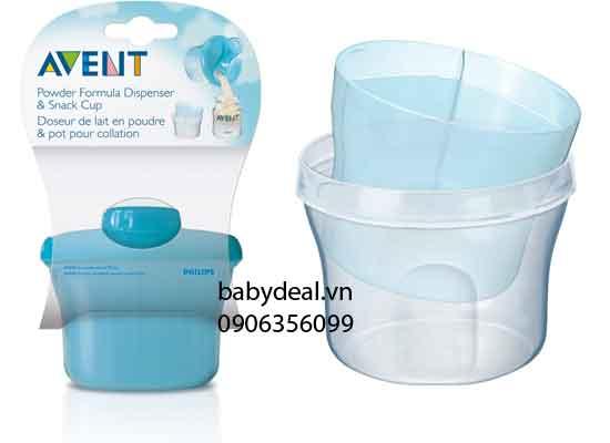 Hộp Chia Sữa Avent cho bé, shop mẹ và bé, giá rẻ tại tp hcm