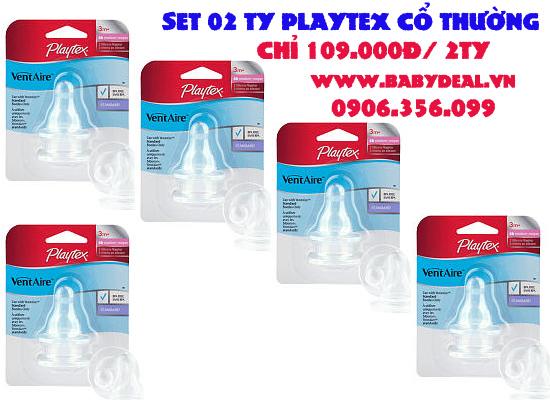 Ty Playtex Cổ Thường cho bé, shop mẹ và bé, giá rẻ tại tp hcm