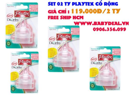 Ty Playtex Cổ Rộng cho bé, shop mẹ và bé, giá rẻ tại tp hcm