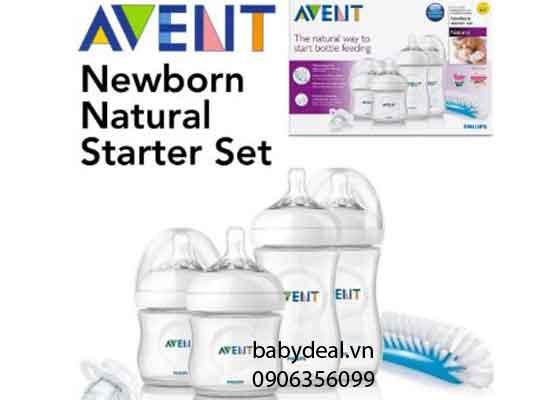 Set Starter Natural Avent cho bé, shop mẹ và bé, giá rẻ tại tp hcm