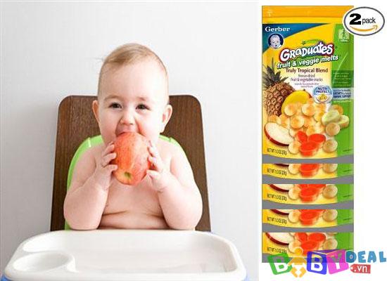 Bánh Tan Sữa Chua Gerber ( Mỹ ) cho bé, shop mẹ và bé, giá rẻ tại tp hcm