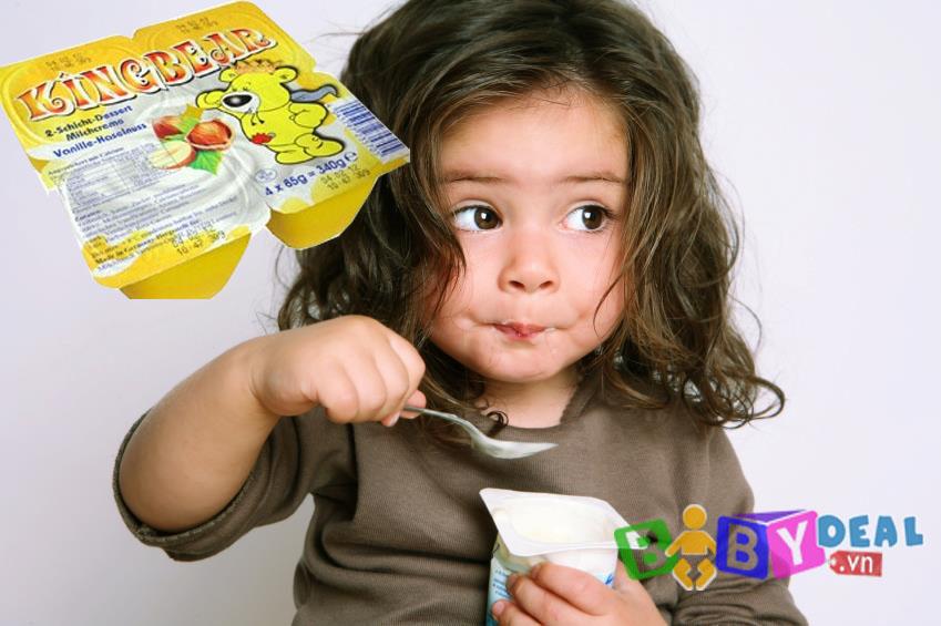 Váng Sữa Kingbear ( Đức ) cho bé, shop mẹ và bé, giá rẻ tại tp hcm