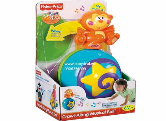 Banh Tập Bò Fisher Price cho bé, shop mẹ và bé, giá rẻ tại tp hcm