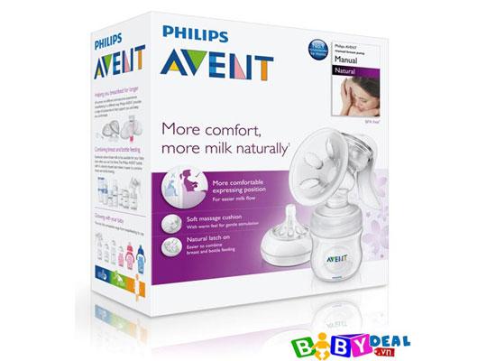 Máy Hút Sữa Tay Avent Natural 2012 cho bé, shop mẹ và bé, giá rẻ tại tp hcm