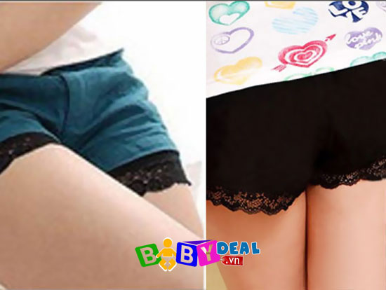 Combo 02 quần mặc trong váy cho bé, shop mẹ và bé, giá rẻ tại tp hcm