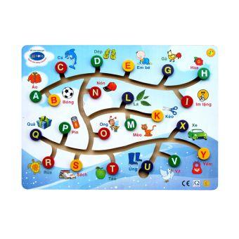 Đường Luồn Chữ Cái Winwin Toys cho bé, shop mẹ và bé, giá rẻ tại tp hcm