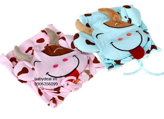 Áo Khoác Hình Bò Sữa cho bé, shop mẹ và bé, giá rẻ tại tp hcm