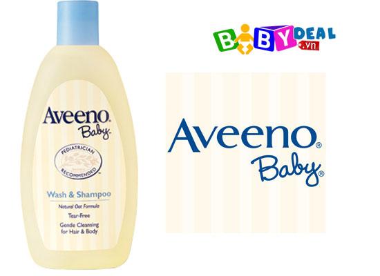 Sữa tắm gội toàn thân Aveeno 532ml
