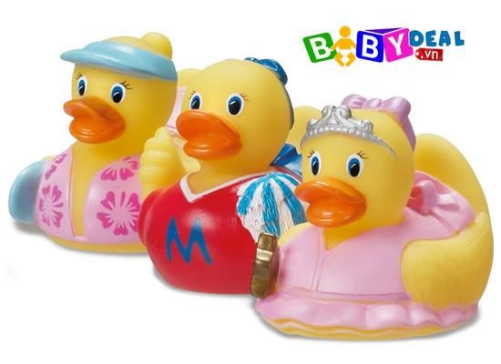 Bộ 3 Chú Vịt Chơi Nhà Tắm Munchkin cho bé, shop mẹ và bé, giá rẻ tại tp hcm