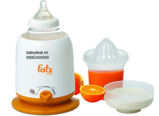 Máy hâm sữa và thức ăn 4 chức năng Fatz