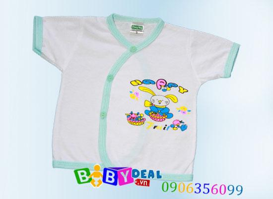 Combo 5 áo sơ sinh tay ngắn cho bé, shop mẹ và bé, giá rẻ tại tp hcm