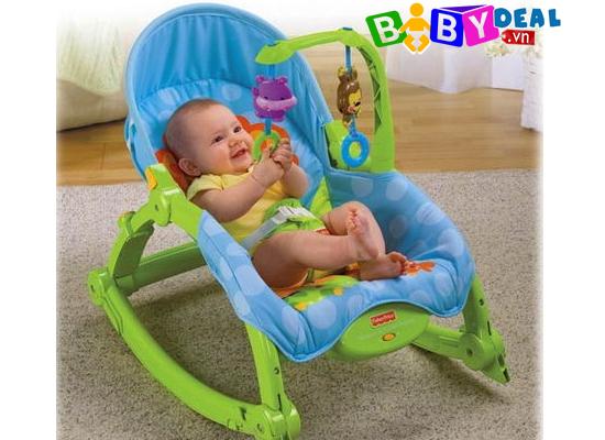 Ghế Rung Fisher Price W2811 cho bé, shop mẹ và bé, giá rẻ tại tp hcm