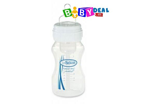 Bình Sữa Dr. Brown's Cổ Rộng 240ml cho bé, shop mẹ và bé, giá rẻ tại tp hcm