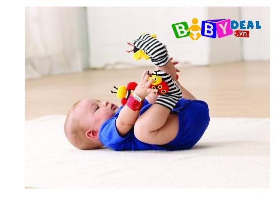 Set 2 Lục Lạc Đeo Tay Lamaze cho bé, shop mẹ và bé, giá rẻ tại tp hcm