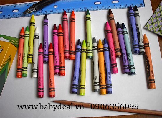 Bút Chì Màu Crayola (Hộp 24 Cây)