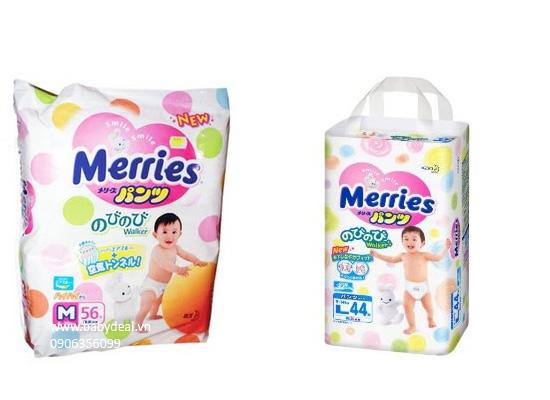 Tã Quần Merries Hàng Nội Địa Nhật cho bé, shop mẹ và bé, giá rẻ tại tp hcm