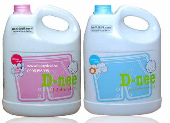 Nước Giặt Xả Đồ Em Bé D-nee Thái Lan (3 lít)