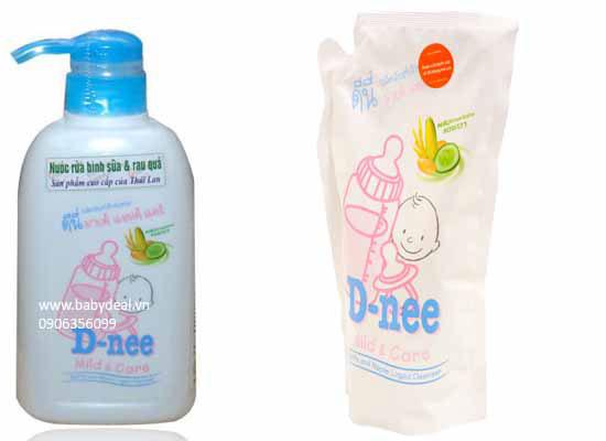 Dung Dịch Rửa Bình Sữa D-nee Thái Lan cho bé, shop mẹ và bé, giá rẻ tại tp hcm