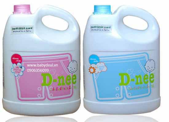 Nước Giặt Xả Đồ Em Bé D-nee Thái Lan (3.5 lít) cho bé, shop mẹ và bé, giá rẻ tại tp hcm