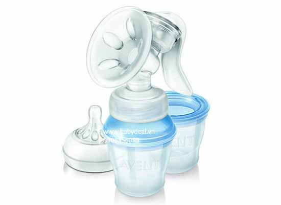 Hút Sữa Tay Avent Natural 2013 cho bé, shop mẹ và bé, giá rẻ tại tp hcm