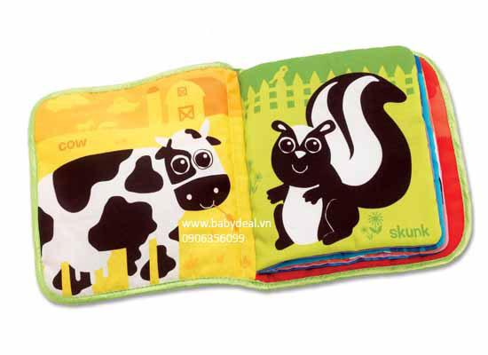 Sách Vải Lamaze cho bé, shop mẹ và bé, giá rẻ tại tp hcm