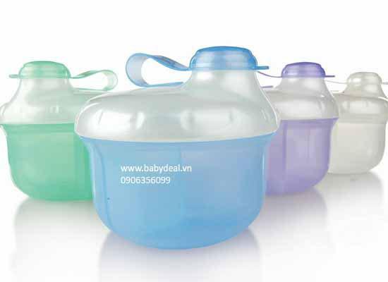 Hộp Chia Sữa Nuby cho bé, shop mẹ và bé, giá rẻ tại tp hcm