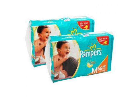 Set 2 Bịch Tã Dán Pampers (Đại) cho bé, shop mẹ và bé, giá rẻ tại tp hcm