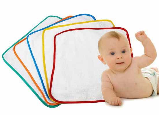 Set 10 Tấm Lót Chấm Thấm Sơ Sinh (35cm x 35cm) cho bé, shop mẹ và bé, giá rẻ tại tp hcm