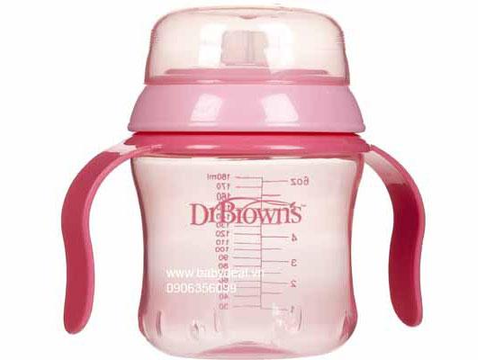 Bình Nước Dr. Brown's Soft Spout Training Cup cho bé, shop mẹ và bé, giá rẻ tại tp hcm