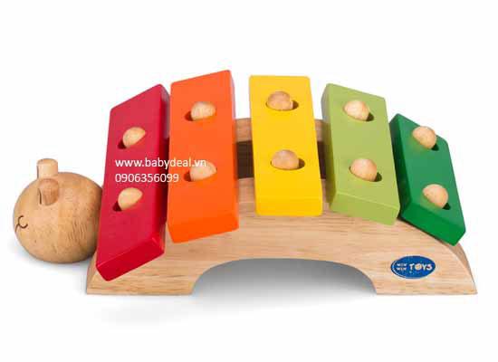 Đàn Hình Chú Rùa Winwin Toys cho bé, shop mẹ và bé, giá rẻ tại tp hcm