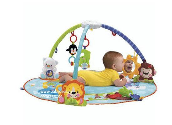 Thảm Fisher Price cho bé, shop mẹ và bé, giá rẻ tại tp hcm