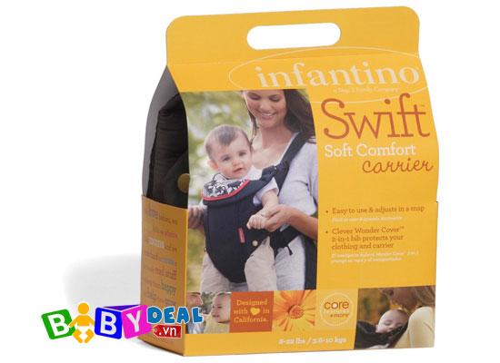Địu Em Bé Infantino Swift Classic cho bé, shop mẹ và bé, giá rẻ tại tp hcm