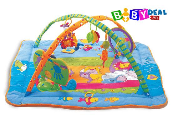 Thảm Nẳm Chơi Có Nhạc Gymini Kick & Play Tiny Love cho bé, shop mẹ và bé, giá rẻ tại tp hcm