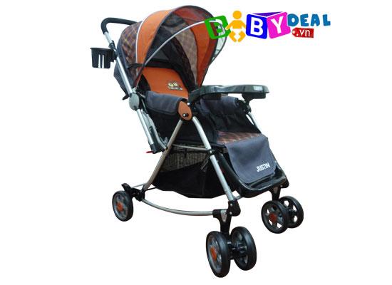 Xe đẩy đa năng Justin B370 cho bé, shop mẹ và bé, giá rẻ tại tp hcm