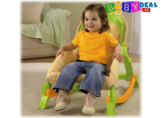 Ghế rung Fisher Price T2518 cho bé, shop mẹ và bé, giá rẻ tại tp hcm
