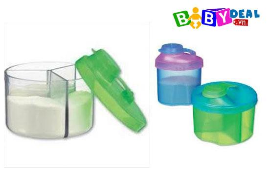 Set 2 hộp chia sữa Munchkin cho bé, shop mẹ và bé, giá rẻ tại tp hcm