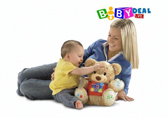 Gấu Teddy Fisher Price cho bé, shop mẹ và bé, giá rẻ tại tp hcm
