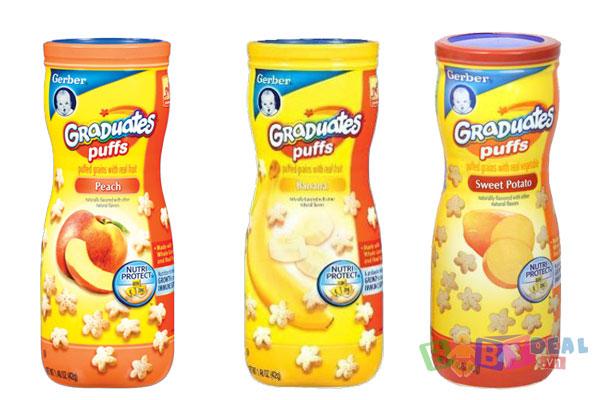 Bánh Ăn Dặm Gerber cho bé, shop mẹ và bé, giá rẻ tại tp hcm
