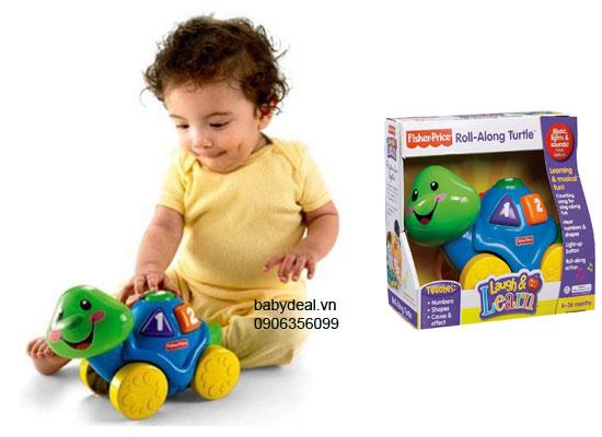 Rùa Đếm Số Fisher Price cho bé, shop mẹ và bé, giá rẻ tại tp hcm