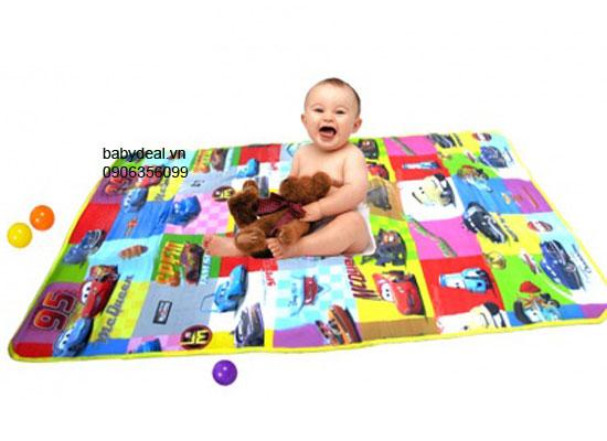 Thảm Cuộn Cho Bé cho bé, shop mẹ và bé, giá rẻ tại tp hcm