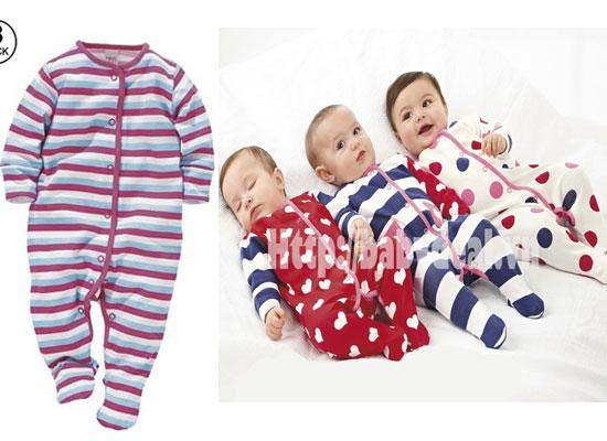 Set 03 áo liền thân có vớ NEXT cho bé, shop mẹ và bé, giá rẻ tại tp hcm