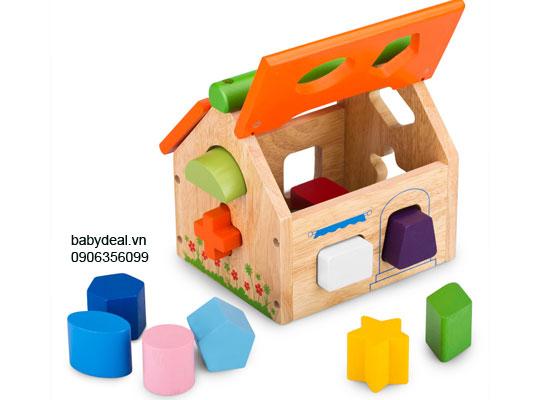 Nhà Thả 12 Khối Winwin Toys cho bé, shop mẹ và bé, giá rẻ tại tp hcm