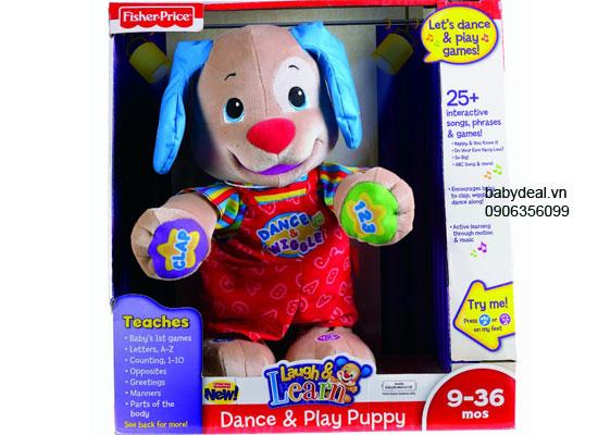 Chó Puppy biết nhảy Fisher Price